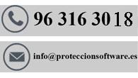Contacto www.proteccionsoftware.es