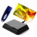 KIT Authentication Solution (ePass2003+PKI Smart Card+Reader SmartCard)